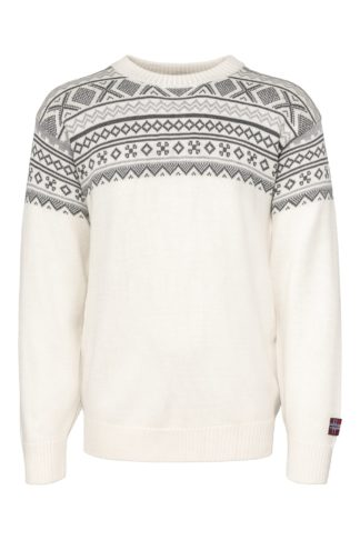 Arctic Circle Magne unisex wool sweater white - Mall of Norway - Norwegian Brands - Men / Wool sweaters