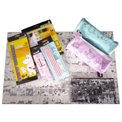 Moomin penal turquoise - Mall of Norway - Norwegian Brands - Accessories / Stationery