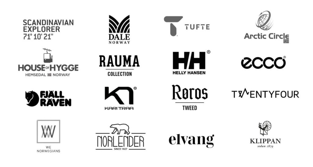 Mall of Norway logo grid