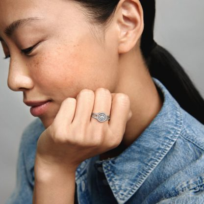 Sparkling Double Halo Ring - Mall of Norway - Norwegian Brands - Accessories / Jewellery