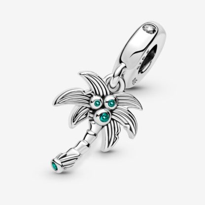 Palm Tree & Coconuts Dangle Charm - Mall of Norway - Norwegian Brands - Accessories / Jewellery