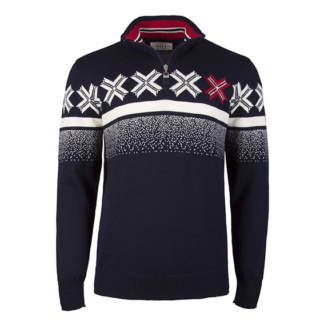 Dale of Norway Ol passion men wool sweater navy - Mall of Norway - Norwegian Brands - Men / Wool sweaters
