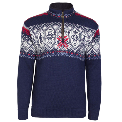 Dale of Norway Norge men wool sweater navy - Mall of Norway - Norwegian Brands - Men / Wool sweaters