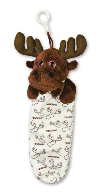 Plush moose penal - Mall of Norway - Norwegian Brands - Accessories / Stationery