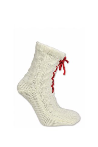 Knitted socks with laces - Mall of Norway - Norwegian Brands - Accessories / Socks
