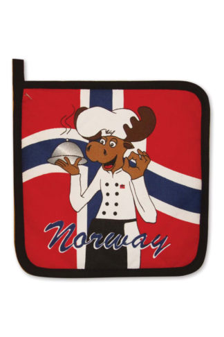 Pot holder moose chef - Mall of Norway - Norwegian Brands - Home decor / Kitchenware