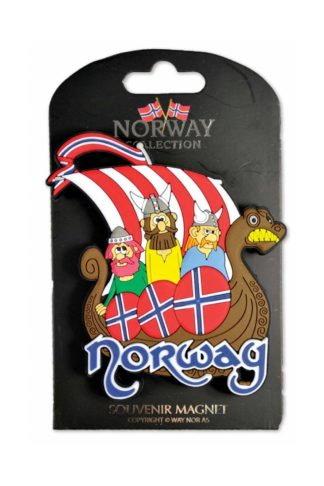 Rubber magnet plate viking ship - Mall of Norway - Norwegian Brands - Home decor / Magnets