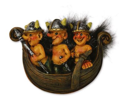 Viking sailors magnet - Mall of Norway - Norwegian Brands - Home decor / Magnets