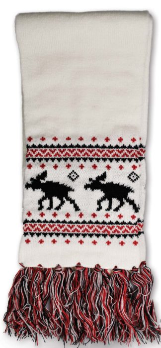 Knitted scarf moose - Mall of Norway - Norwegian Brands - Accessories / Scarves