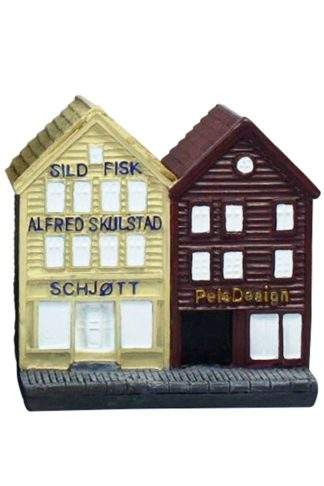 House Bryggen 10cm - Mall of Norway - Norwegian Brands - Home decor / Souvenirs
